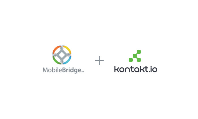 Kontakt.io and Mobile Bridge Form Strategic Alliance