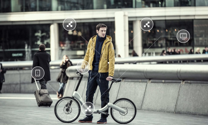 Beacon-enabled Bike Powered by Kontakt.io Launched on Kickstarter