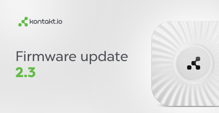 Cloud Beacon Firmware Update v 2.3 Incoming!