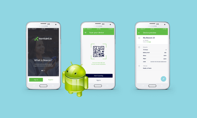 The World Premiere: the Admin App for Android!