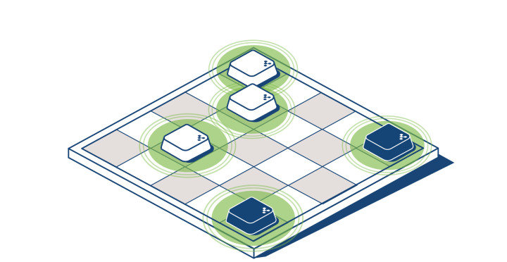 Beacon Deployment: The Perfect Grid
