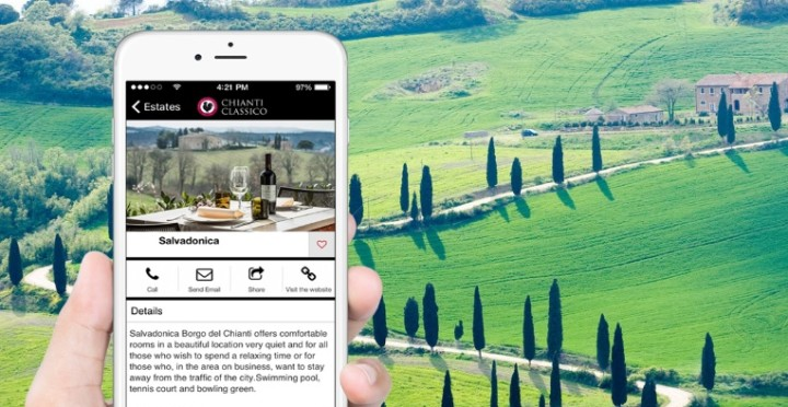 Beacon technology and wine-tasting experience for Chianti connoisseurs