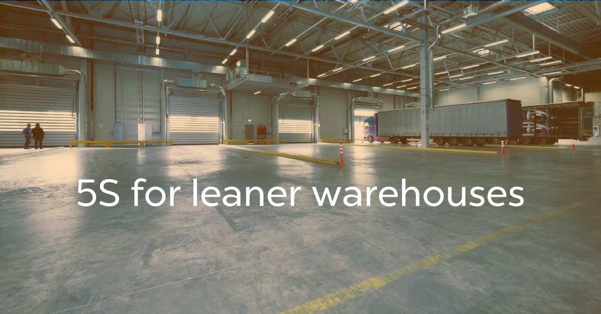 Lean Warehouse Management Implement 5s With Bluetooth