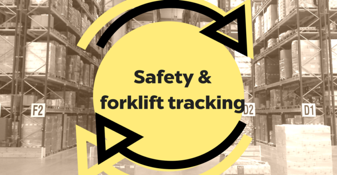 Forklift Tracking Using Beacons Improves Intralogistics