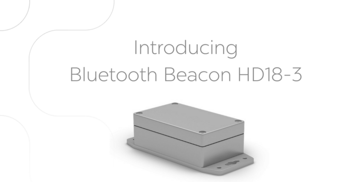 Launching Bluetooth Beacon HD18-3