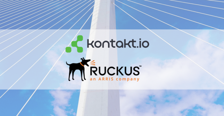 Kontakt.io Partners with Ruckus Networks to Simplify the Adoption of Location-Based IoT Services