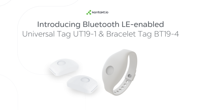 New BLE-enabled Bracelet Tag BT19-4 and Universal Tag UT19-1