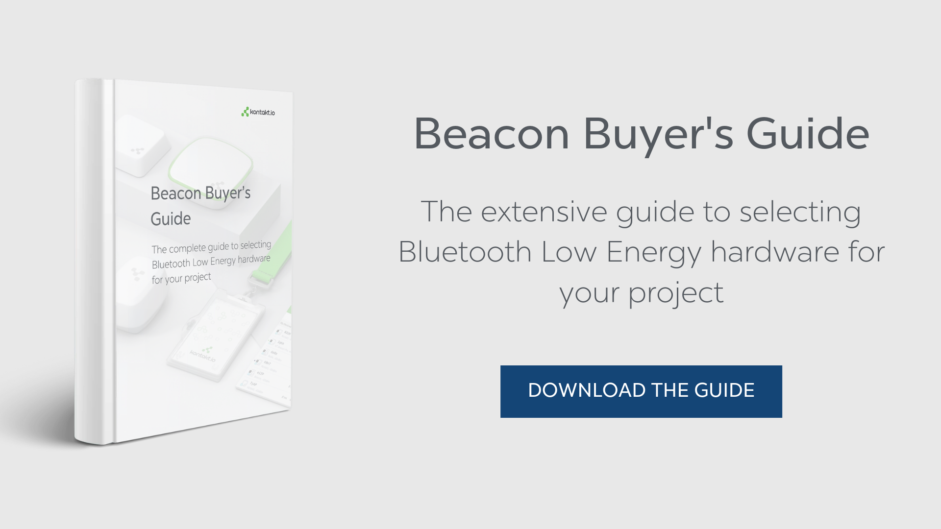 Beacon Buyer's Guide to select BLE hardware for your project Cold chains