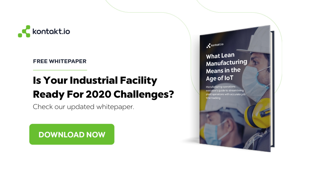 Contact Tracing in Industrial Environment White Paper