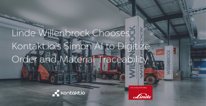 Linde Willenbrock Chooses Simon AI to Digitize Their Workflows Saving 100,000+ EUR per annum per Warehouse