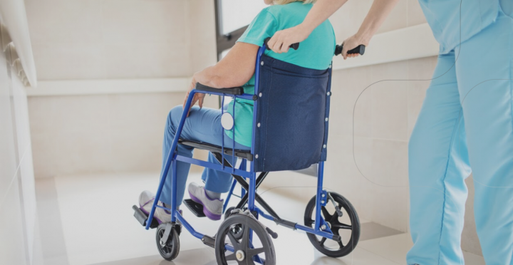 Wheelchair Tracking in Hospitals With BLE Location Services
